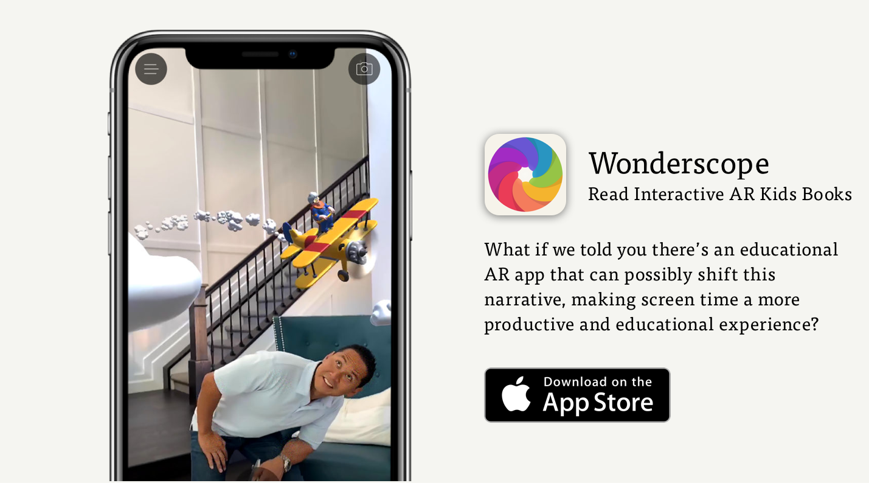 Wonderscope AR app