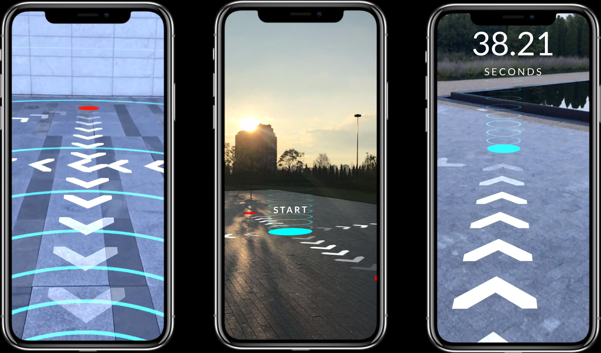 AR Running App