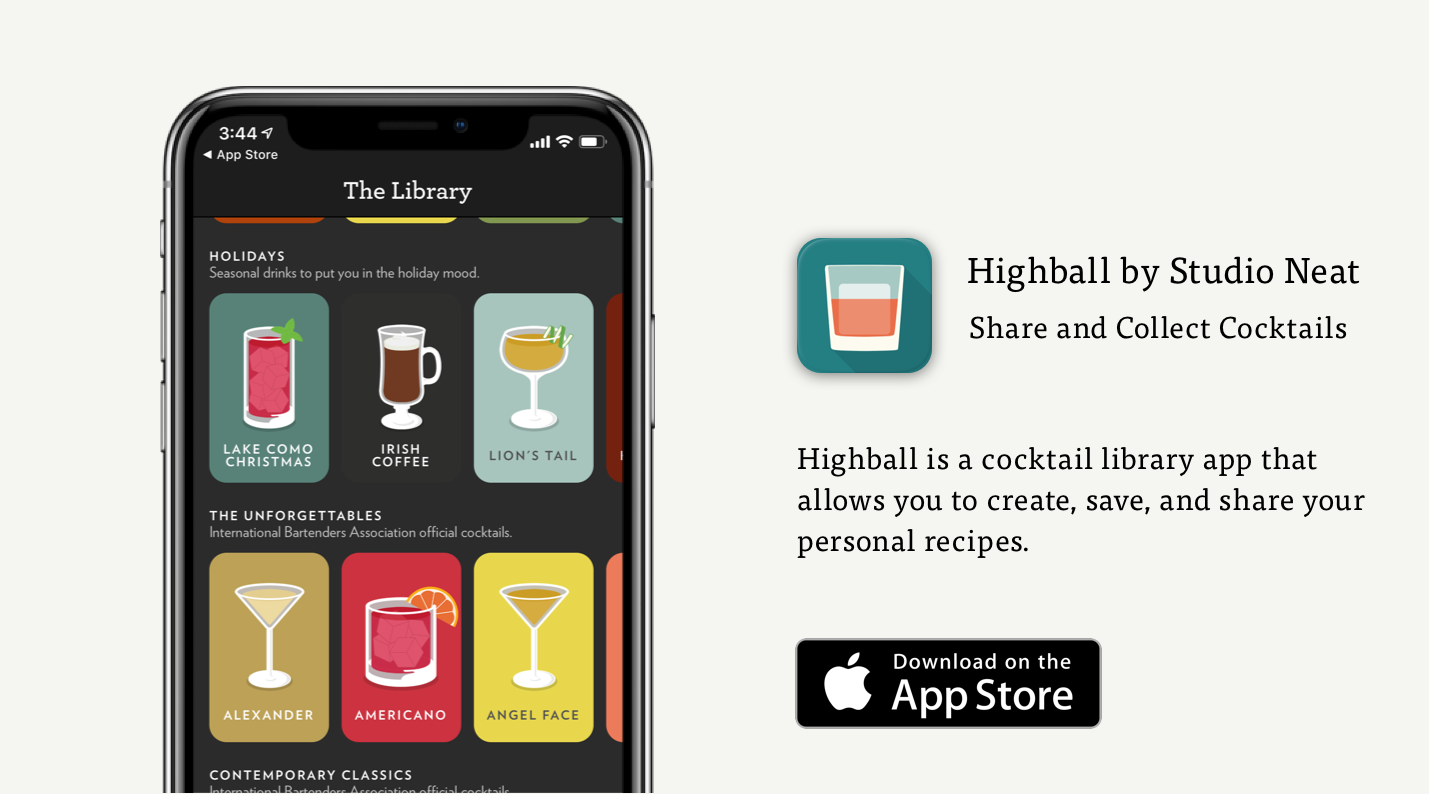 highball cocktail app