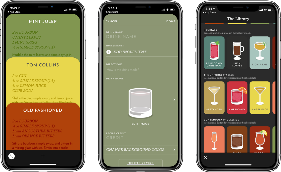 cocktail app