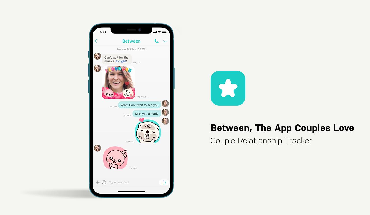 between app