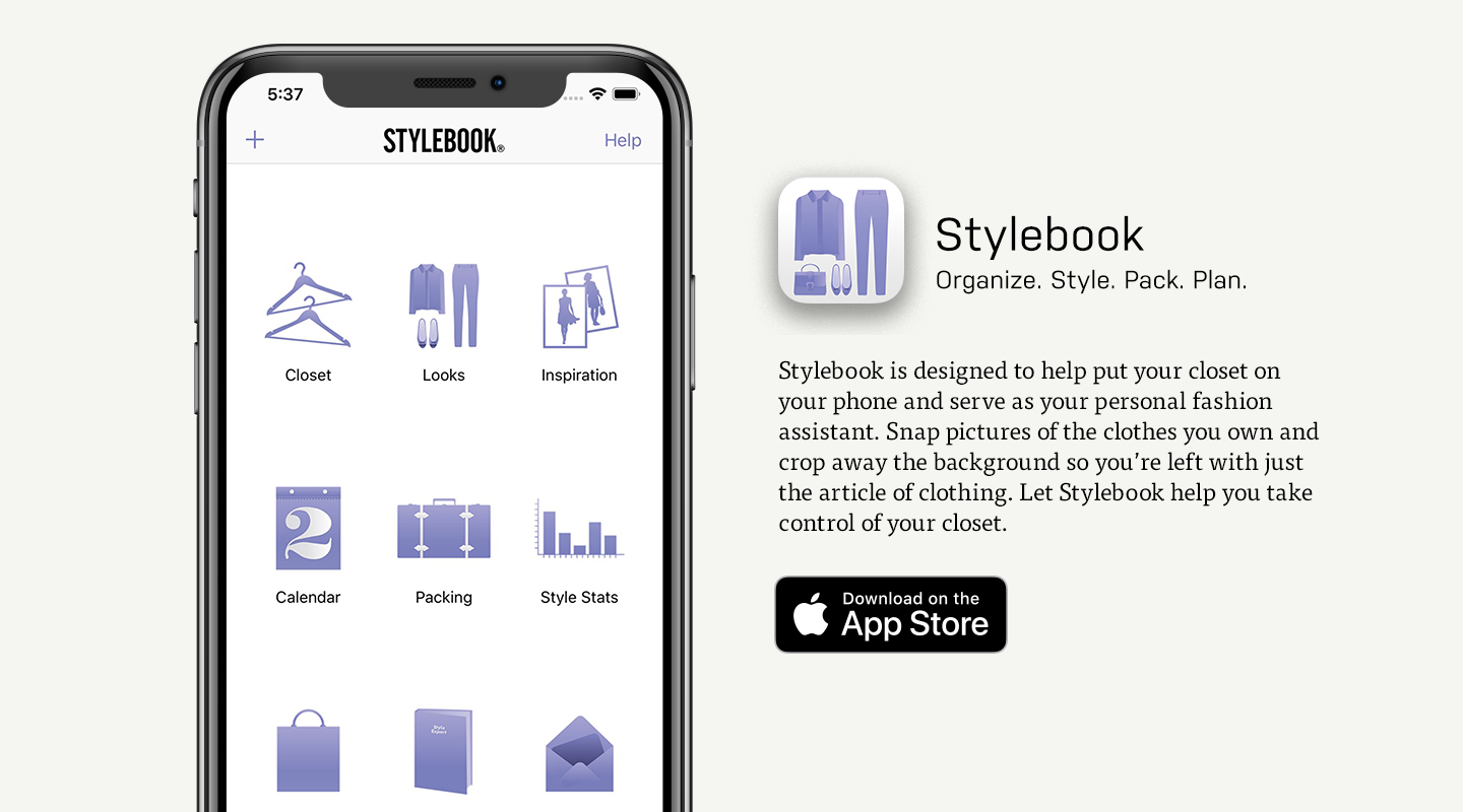 iOS preview of Stylebook