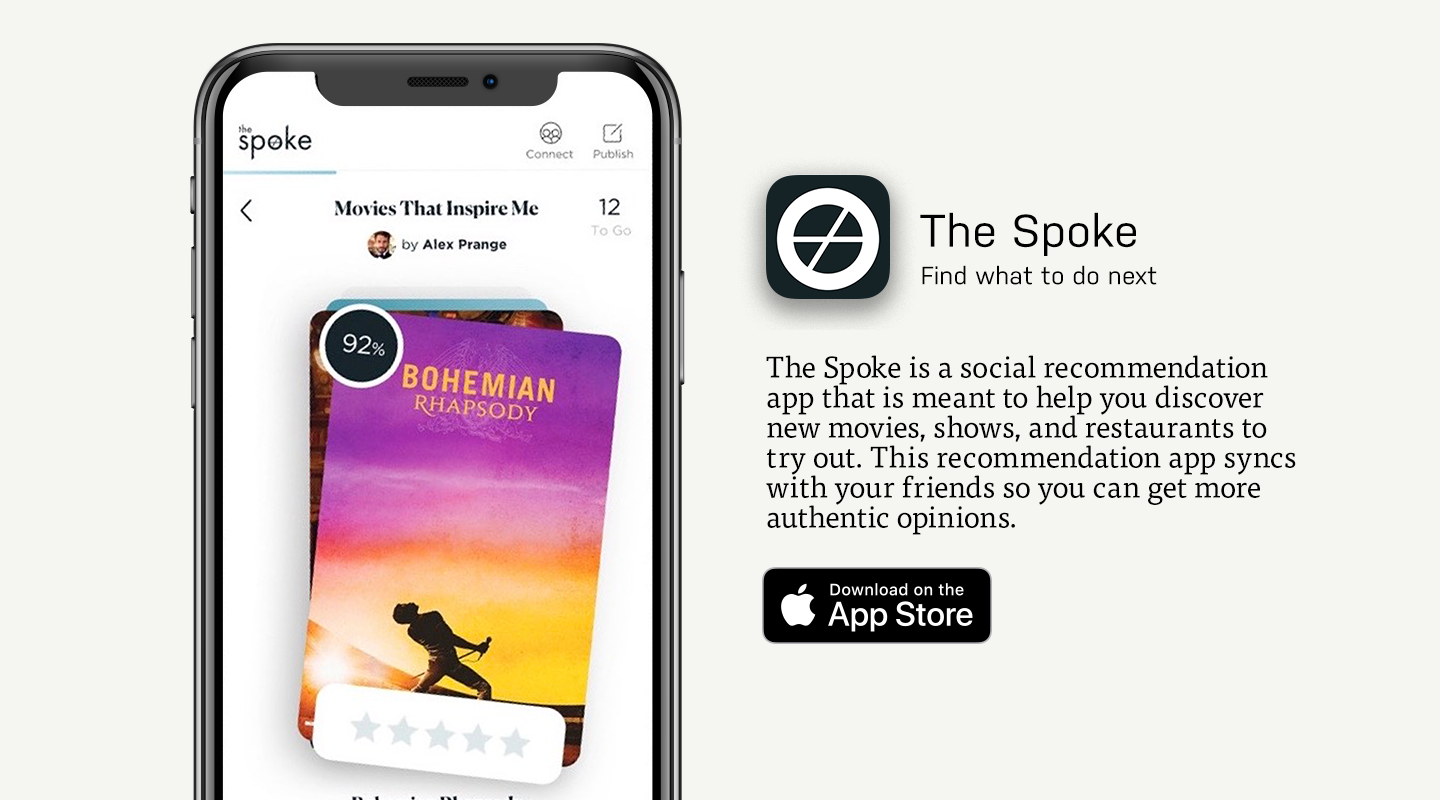 App Store preview of The Spoke