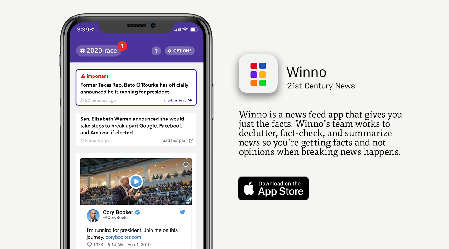 App Store preview of Winno