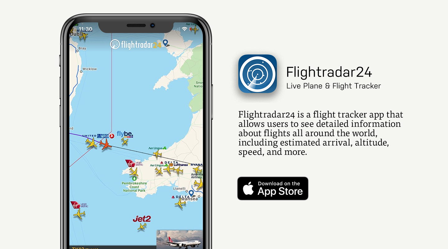 App Store preview of Flightradar24