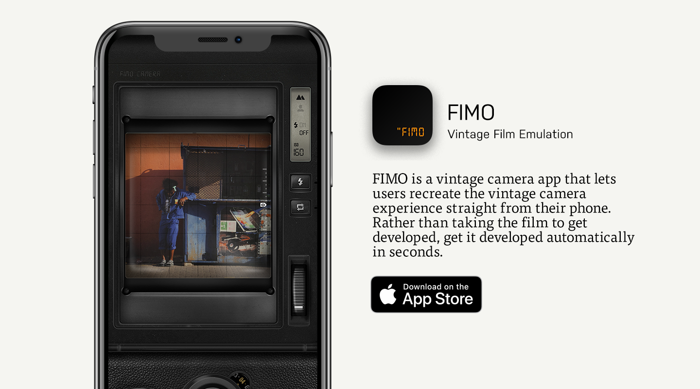 App Store preview of FIMO