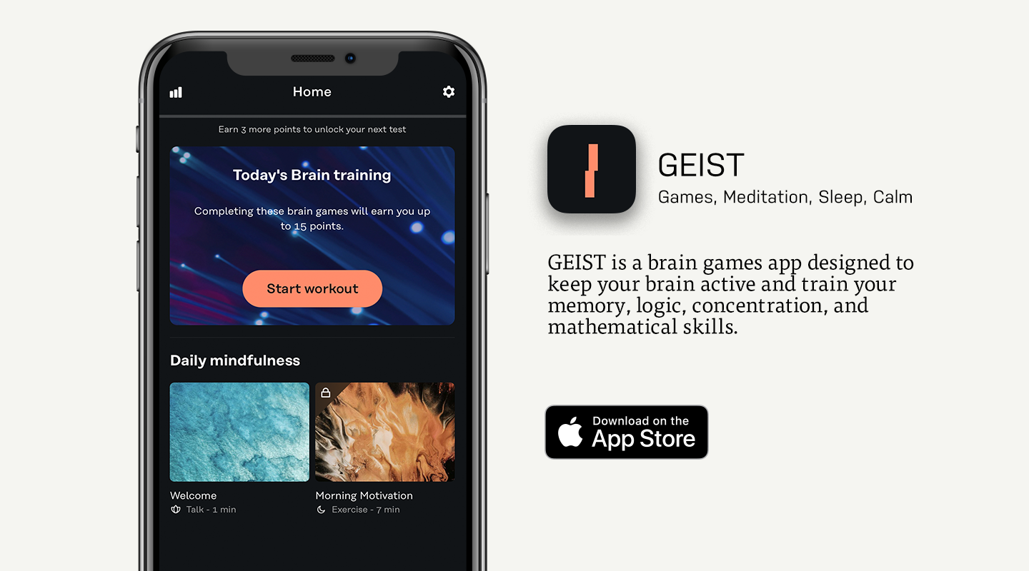 App Store preview of GEIST