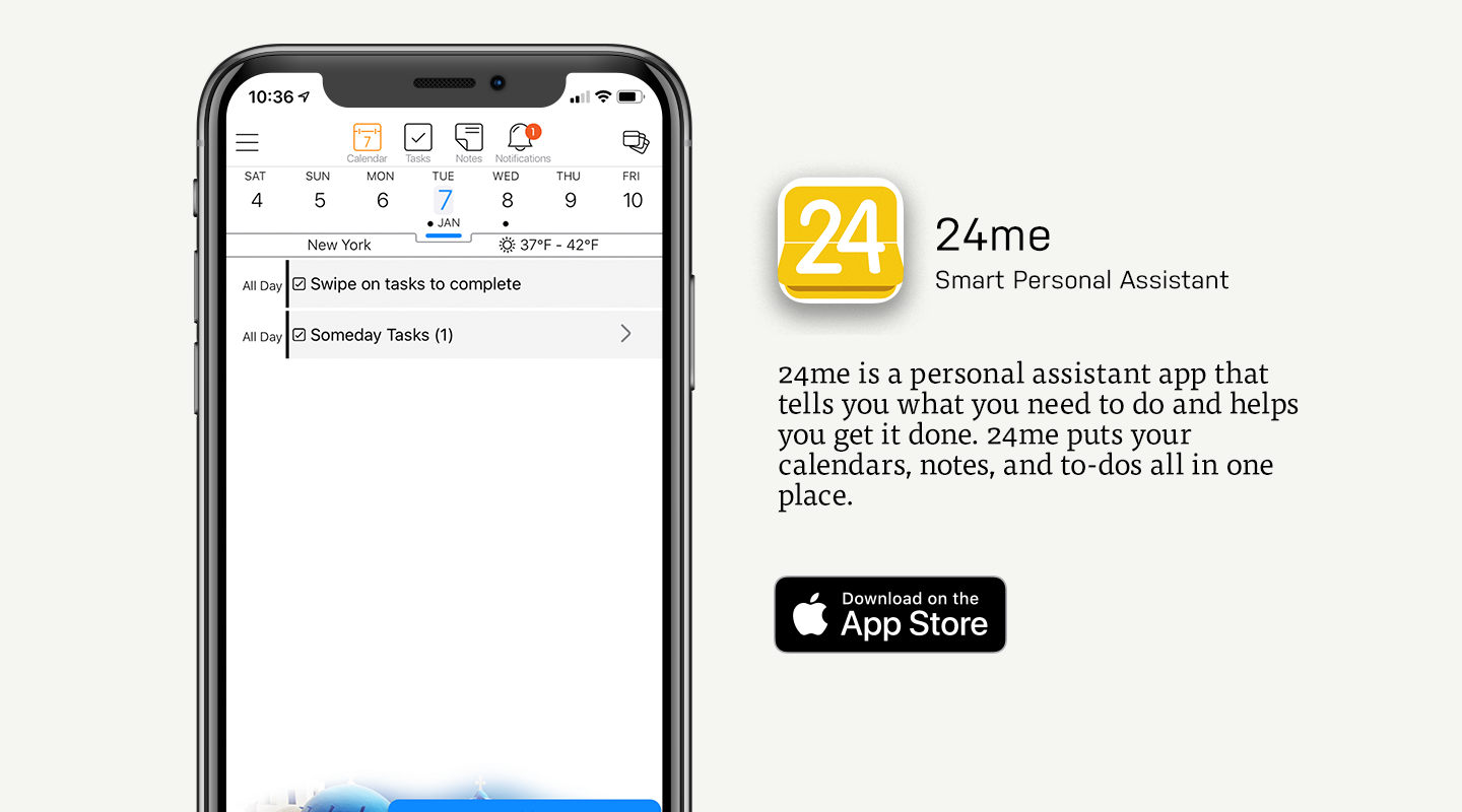 App Store preview of 24me
