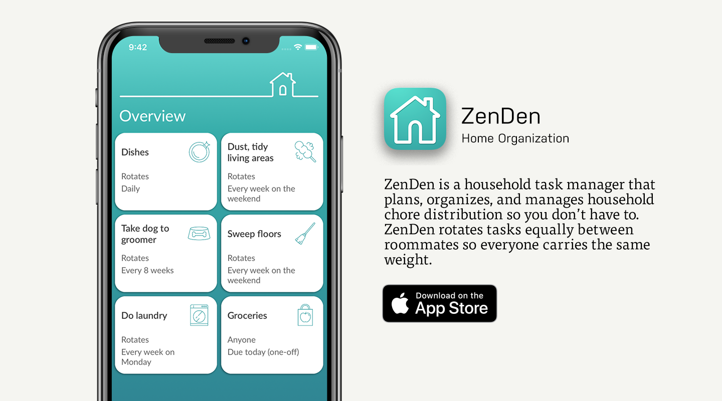 App Store preview of ZenDen
