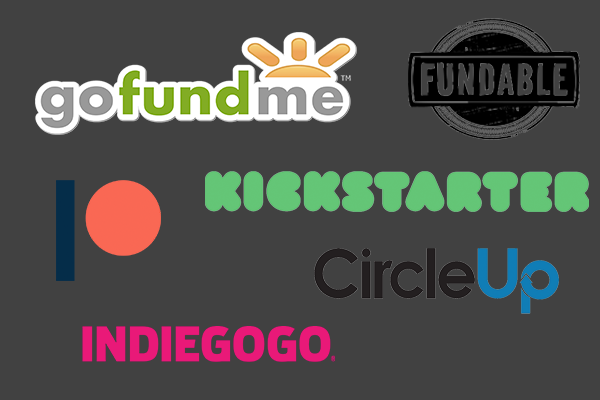 various crowdfunding platforms