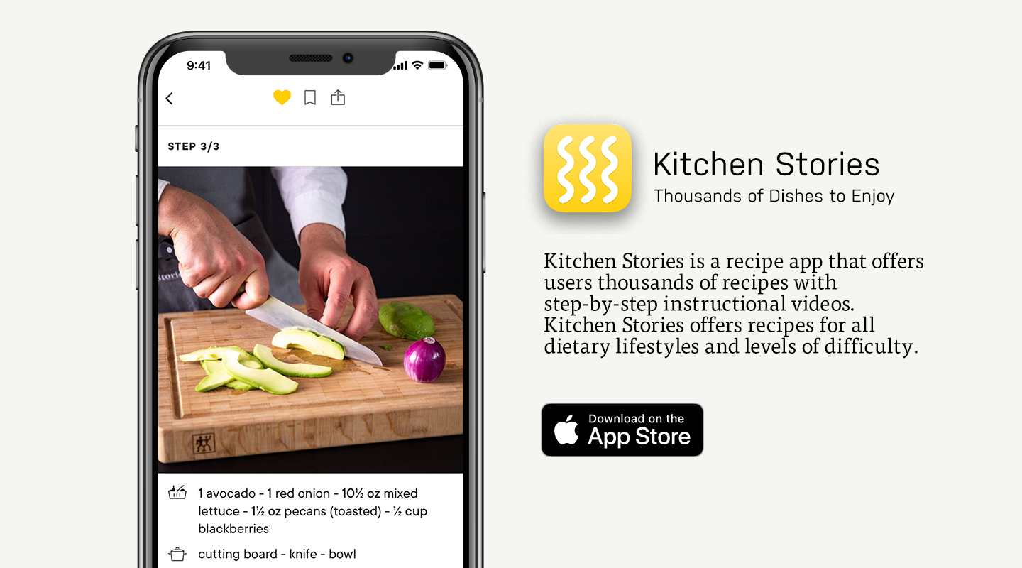 App Store preview of Kitchen Stories