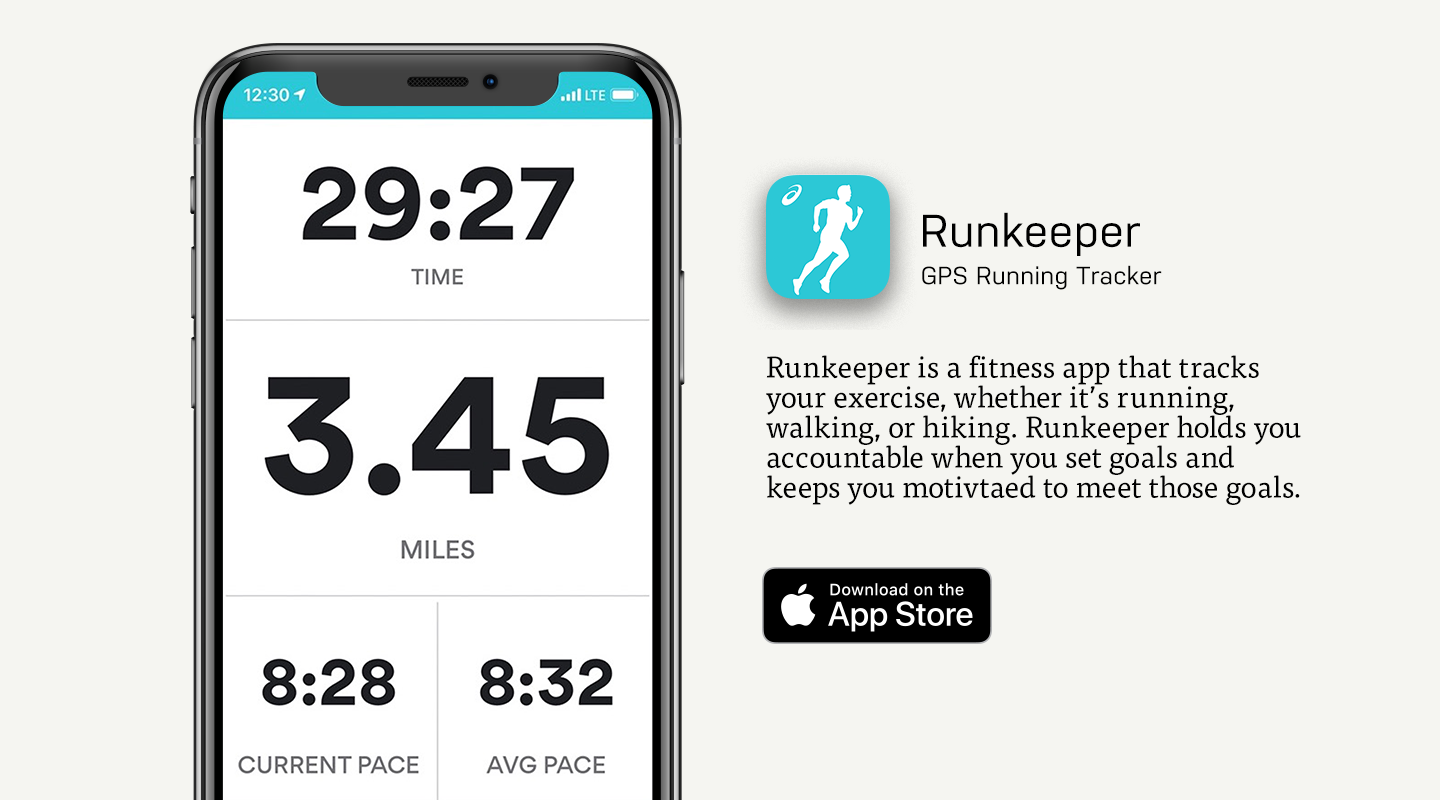 App Store preview of Runkeeper