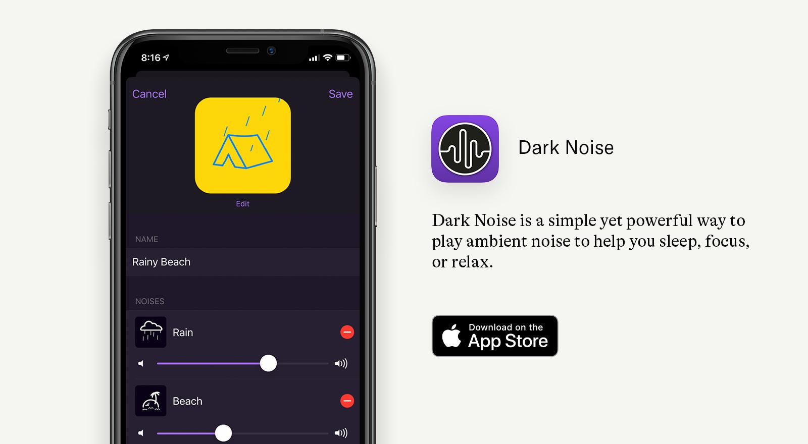 dark noise app