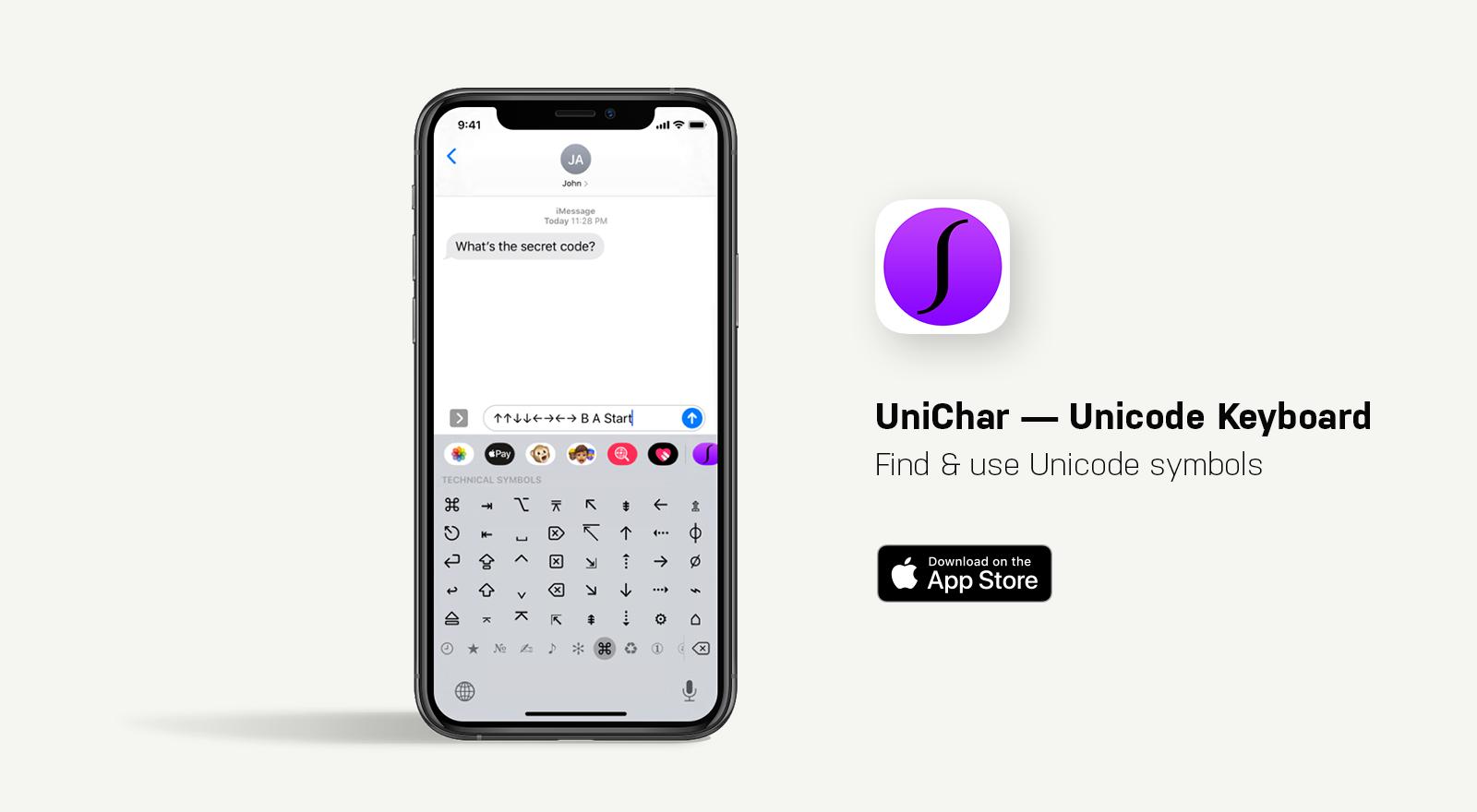 unichar app