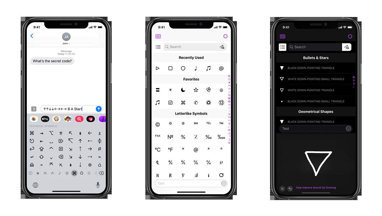 unichar app screens