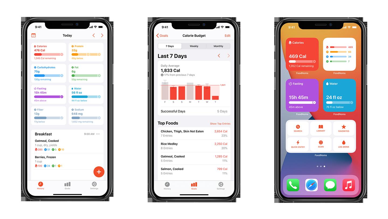 foodnoms-app-screens