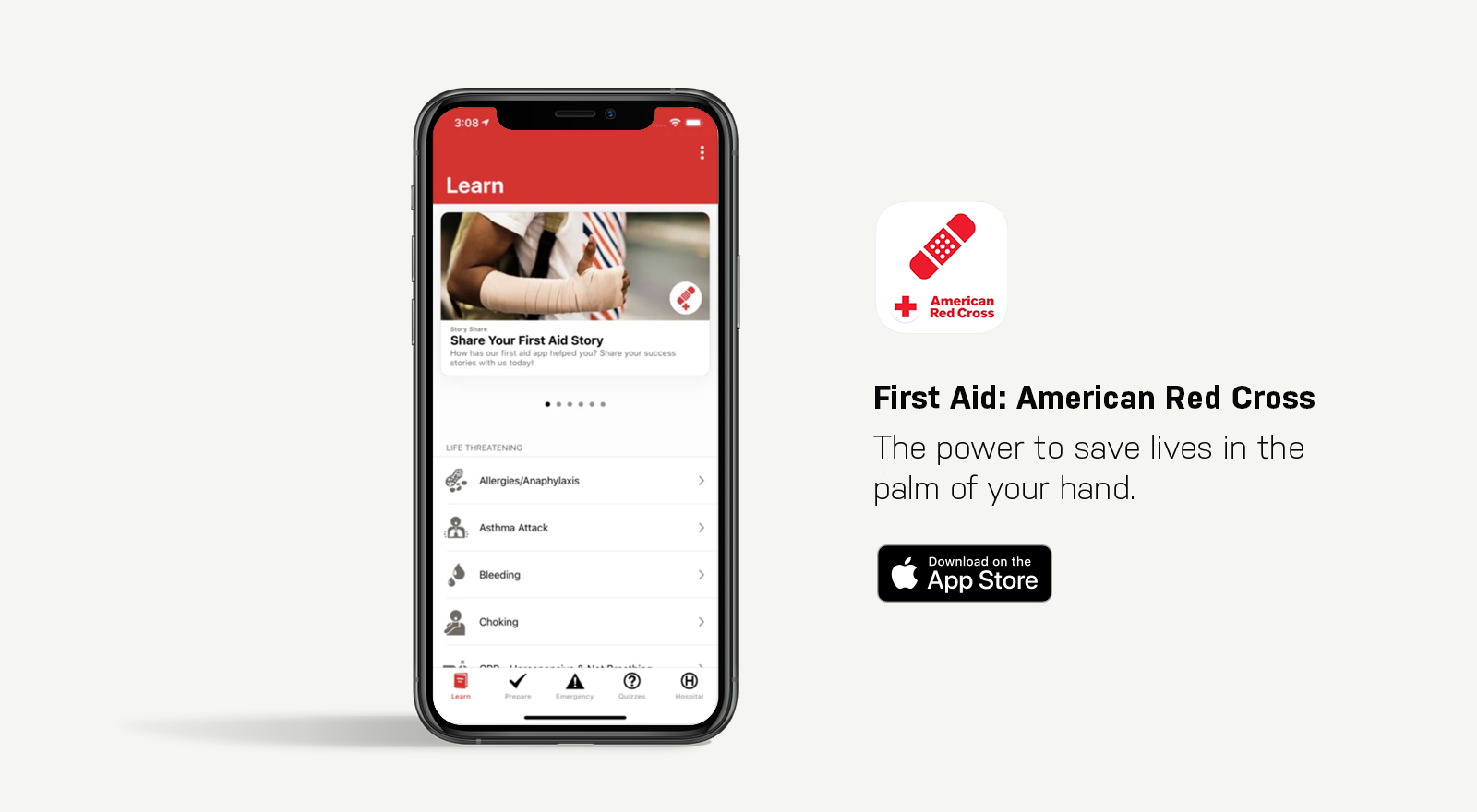 first aid: american red cross app