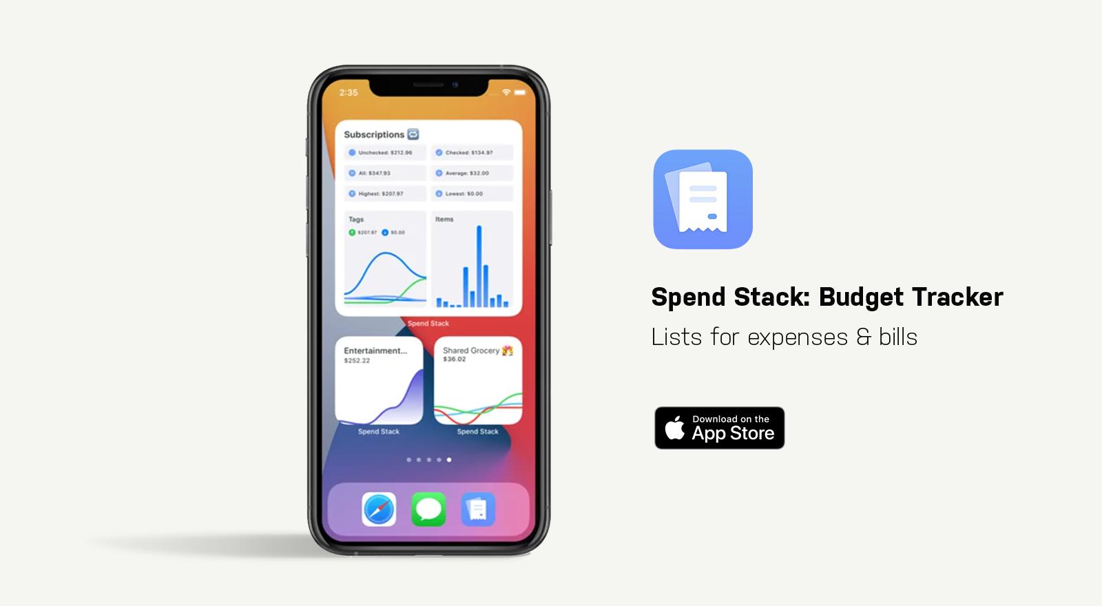 spend stack app screen