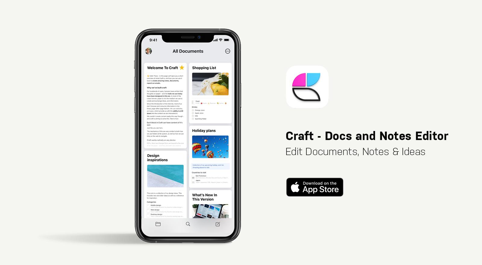craft app