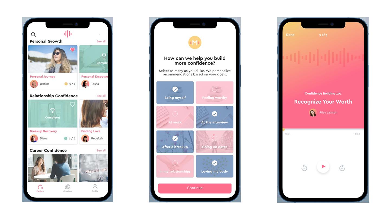 marigold app screens