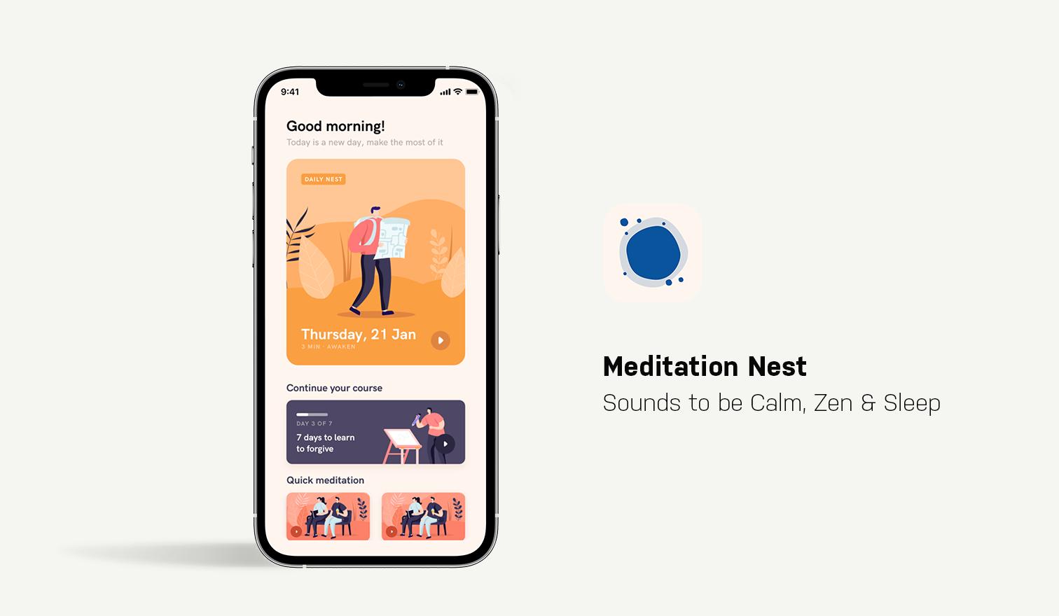 meditation nest app