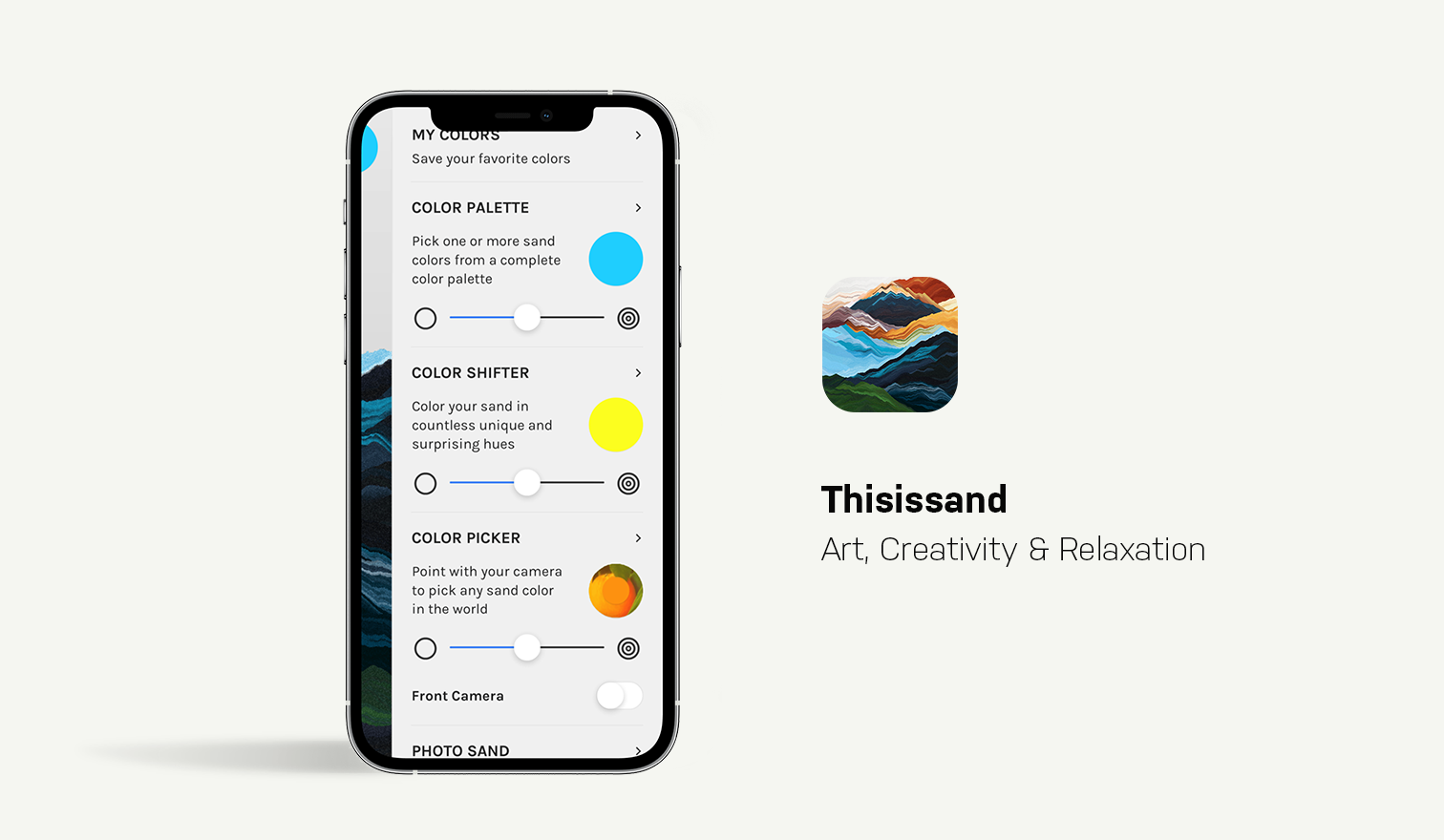 thisissand app
