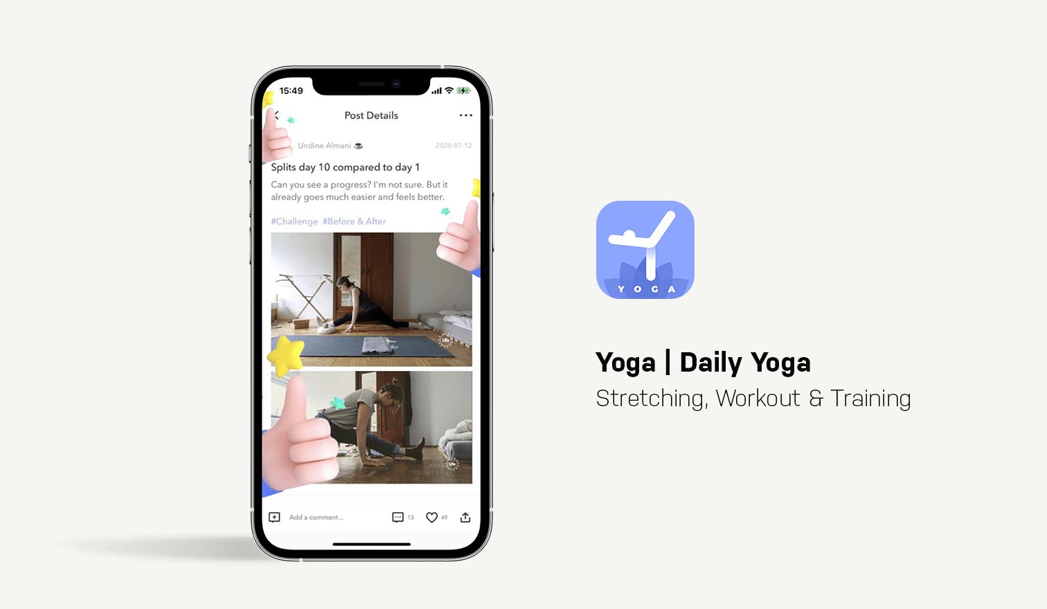 yoga daily app