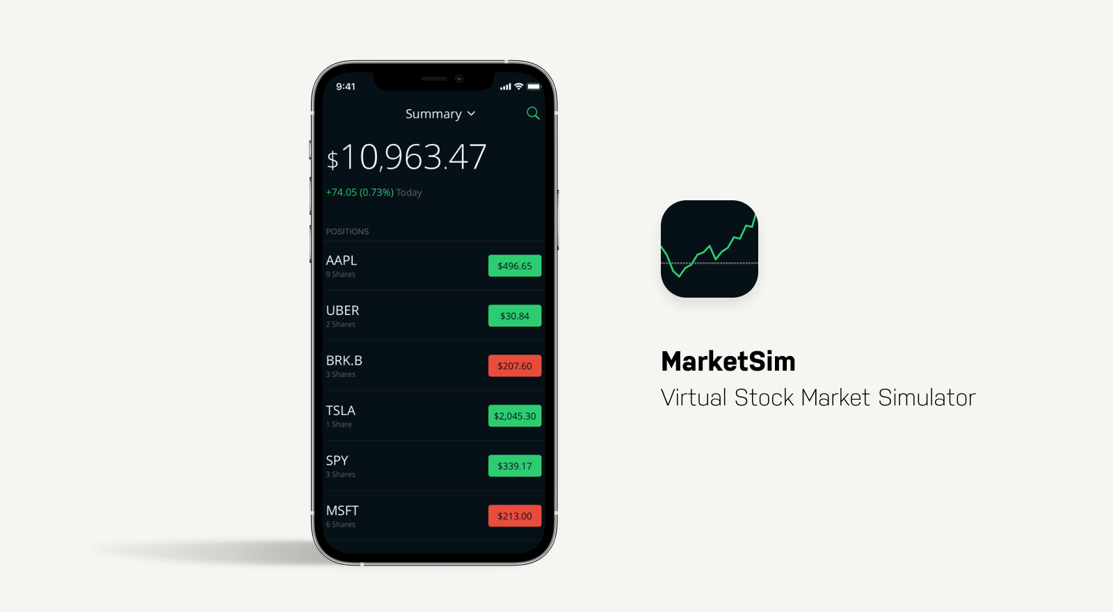 marketsim investing app