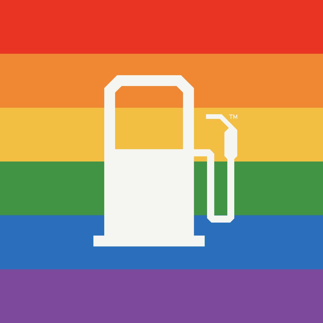 fueled pride logo