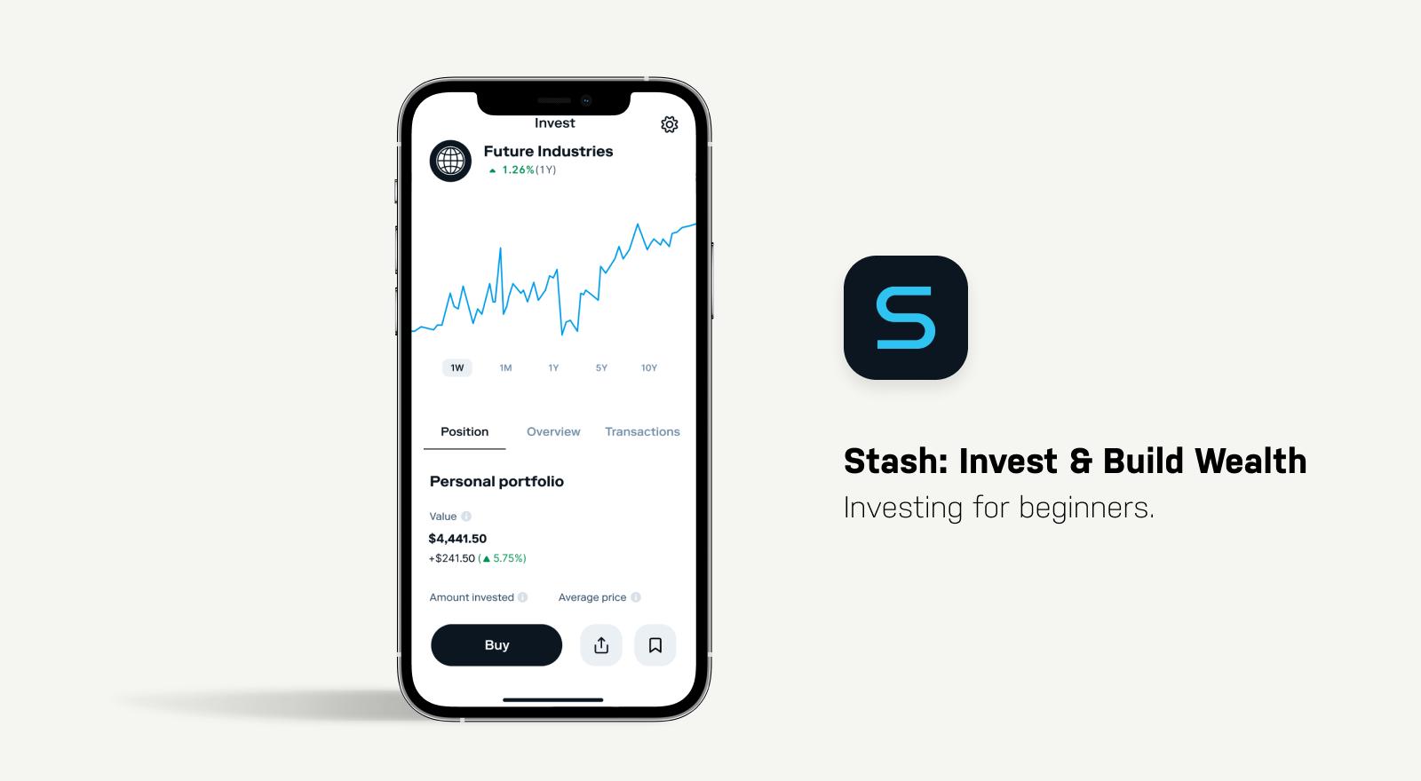 stash investing app