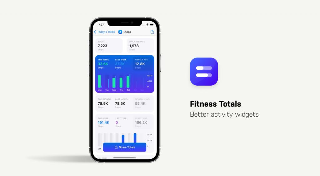 fitness totals app