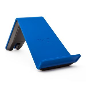 blue TYLT wireless phone charger stand for android