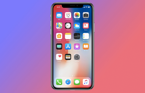 iphone x shown in apple keynote