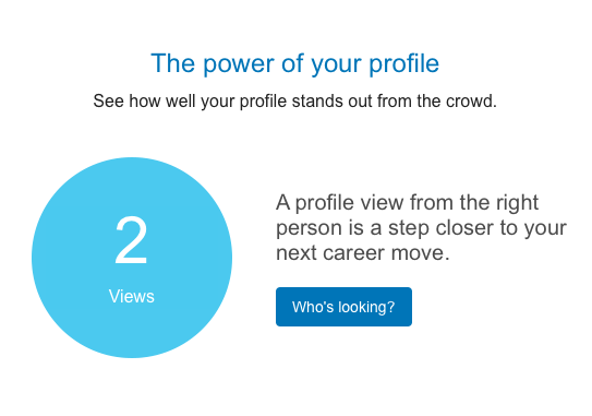 linkedin notification provides constant intrusion