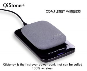 qistone+ wireless charger stone pad for android